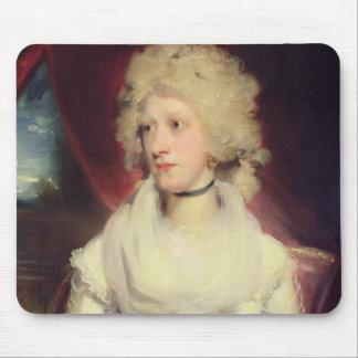Retrato de Srta. Martha Carr (aceite en lona) Mousepad