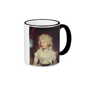 Retrato de Srta. Martha Carr (aceite en lona) Taza De Café
