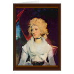 Retrato de Srta. Martha Carry By sir Thomas Lawren Tarjetas