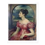 Retrato de Srta. Puxley, 1826 (aceite en lona) Tarjeta Postal