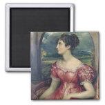Retrato de Srta. Puxley, 1826 (aceite en lona) (vé Imán Cuadrado