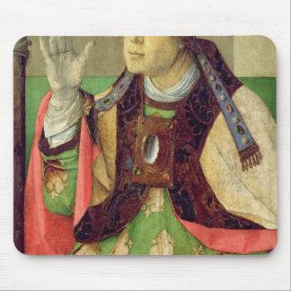 Retrato de St Augustine, c.1475 Alfombrillas De Ratones