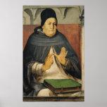 Retrato de St Thomas Aquinas c.1475 Poster