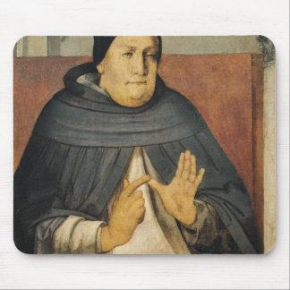 Retrato de St Thomas Aquinas c.1475 Alfombrillas De Raton