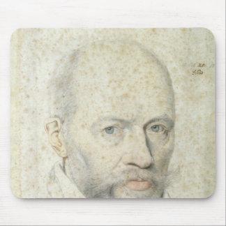 Retrato de St. Vincent de Paul Alfombrillas De Ratón