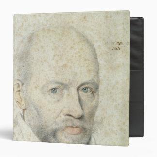 """Retrato de St. Vincent de Paul Carpeta 1 1/2"""""""