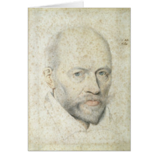 Retrato de St. Vincent de Paul Tarjeta De Felicitación