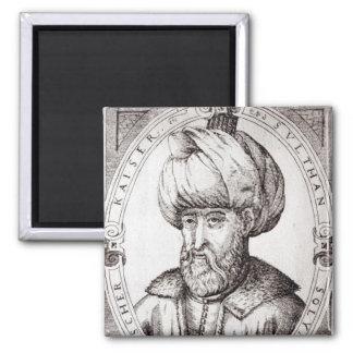 Retrato de Suleiman el magnífico Iman De Frigorífico
