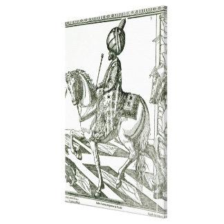 Retrato de Suleiman el magnífico Impresion En Lona
