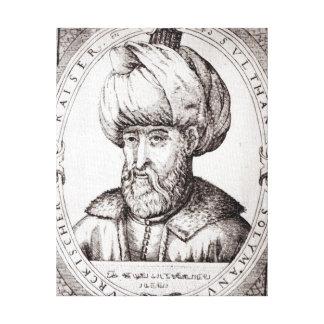Retrato de Suleiman el magnífico Impresiones De Lienzo