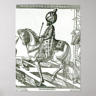 Retrato de Suleiman el magnífico Impresiones
