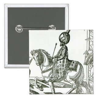 Retrato de Suleiman el magnífico Pins