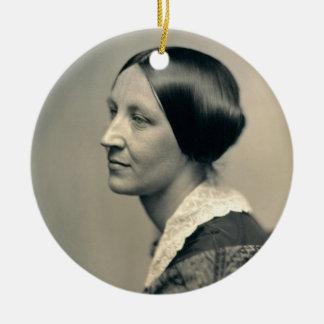 Retrato de Susan Brownell Anthony 1850 Ornamento Para Arbol De Navidad