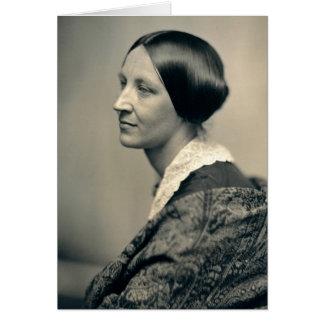 Retrato de Susan Brownell Anthony 1850 Felicitacion