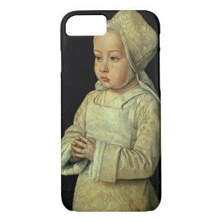 Retrato de Susana de 1491-1521) daughte de Borbón Funda iPhone 7