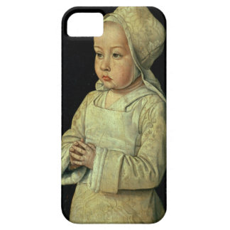 Retrato de Susana de 1491-1521) daughte de Borbón Funda Para iPhone SE/5/5s