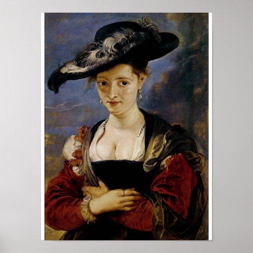 Retrato de Susana Fourment Impresiones