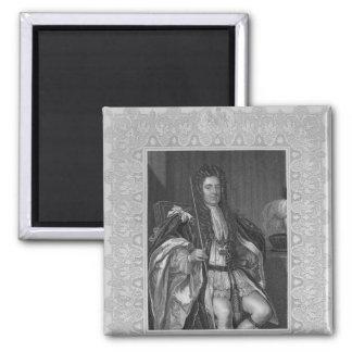 Retrato de Sydney, primer conde de Godolphin Imán Cuadrado