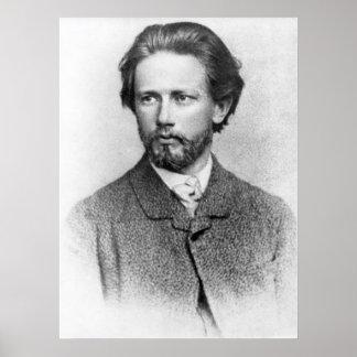 Retrato de Tchaikovsky Póster