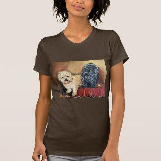 Retrato de Terrier de mojón Camiseta