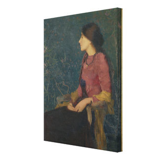 Retrato de Thadee-Caroline Jacquet Lienzo Envuelto Para Galerias