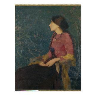 Retrato de Thadee-Caroline Jacquet Postal