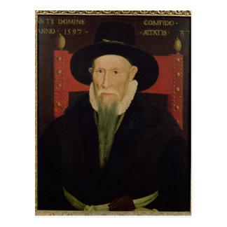 Retrato de Theodore de Beze Postales