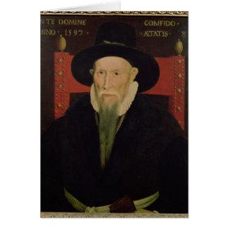 Retrato de Theodore de Beze Tarjeta De Felicitación