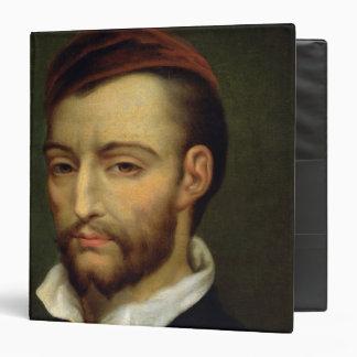 """Retrato de Theodore Gericault Carpeta 1 1/2"""""""