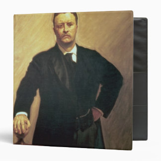 "Retrato de Theodore Roosevelt Carpeta 1 1/2"""