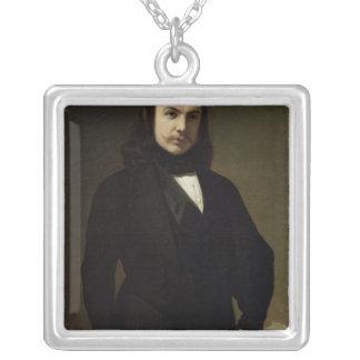 Retrato de Theophile Gautier 1839 Colgante