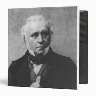 """Retrato de Thomas Babington Macaulay Carpeta 1 1/2"""""""