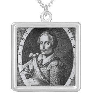 Retrato de Thomas Cavendish Colgante Cuadrado