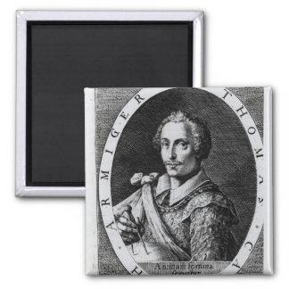Retrato de Thomas Cavendish Imán Cuadrado