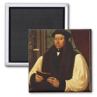 Retrato de Thomas Cranmer 1546 Imán Cuadrado