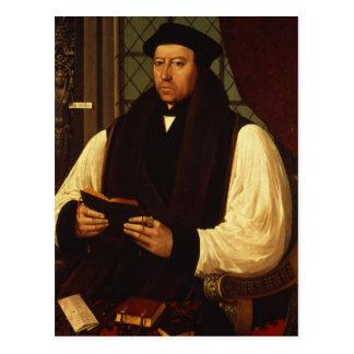 Retrato de Thomas Cranmer 1546 Postales