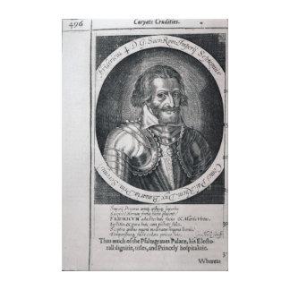 Retrato de Thomas de las 'crudezas de Coryate Lienzo Envuelto Para Galerias