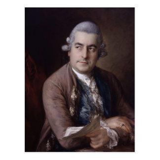 Retrato de Thomas Gainsborough- de Juan Bach Postales