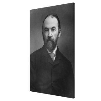 Retrato de Thomas Hardy Lona Estirada Galerías