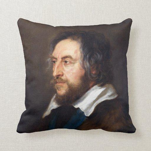 Retrato de Thomas Howard Peter Paul Rubens Almohadas