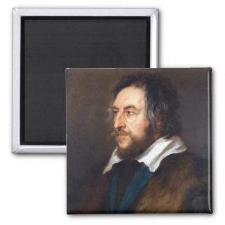 Retrato de Thomas Howard Peter Paul Rubens Imán Cuadrado