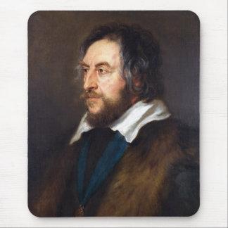 Retrato de Thomas Howard Peter Paul Rubens Mouse Pads