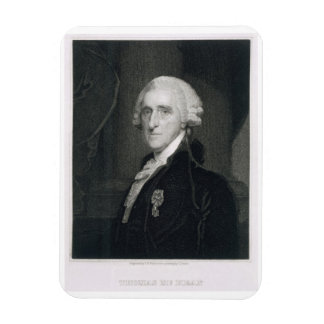 Retrato de Thomas McKean, grabado por Thomas B.W Imanes Rectangulares