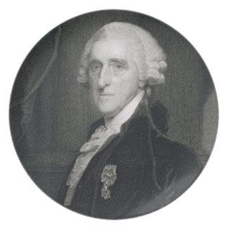 Retrato de Thomas McKean, grabado por Thomas B.W Plato Para Fiesta