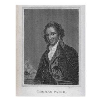 Retrato de Thomas Paine del volumen I Postales