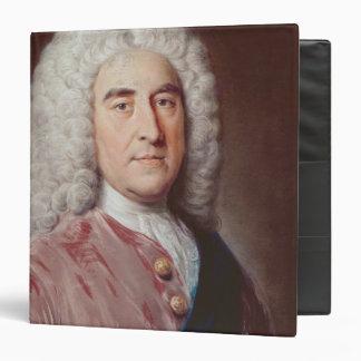 """Retrato de Thomas Pelham Holles Carpeta 1 1/2"""""""
