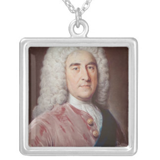 Retrato de Thomas Pelham Holles Colgante Cuadrado