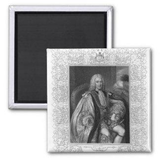 Retrato de Thomas Pelham-Holles Imán Cuadrado