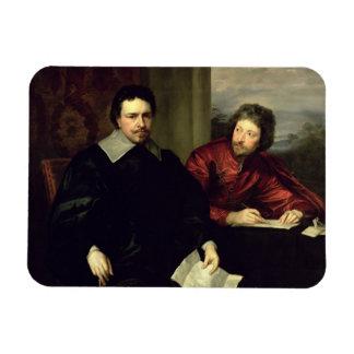 Retrato de Thomas Wentworth conde de Strafford 1 Imanes De Vinilo