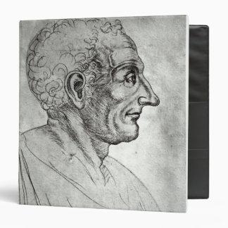 """Retrato de Titus Livius conocido como Livy Carpeta 1 1/2"""""""